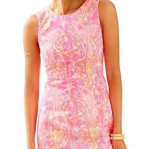 Lilly Pulitzer Pink Flamingo Sleeveless Dress